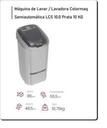 Máquina de lavar roupas - elimina fiapos / desligamento automático / Produto NOVO