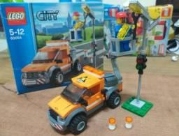 Lego City 60054 - Caminhão De Conserto De Iluminação De Rua