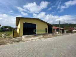 Galpão para alugar, 300 m² por R$ 3.000/mês - Praia Alegre - Penha/SC