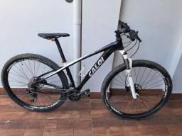Bike MTB Caloi Elite 30 aro 29 quadro 15 em alumínio