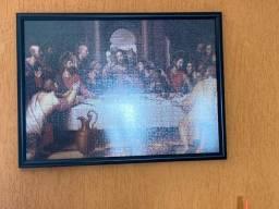 Quadro de quebra cabeça Santa Ceia - 1.000 peças