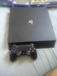 PS4 pro ótimo estado na caixa