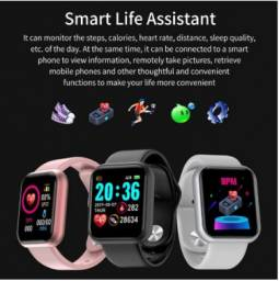 ?Promotion?Y68 D20 Relógio Smart Watch com Bluetooth USB com Monitor Cardíaco Smartwatch