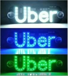 Placa Uber painel de led