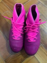 Chuteira Society Adidas Nemeziz N 35/36