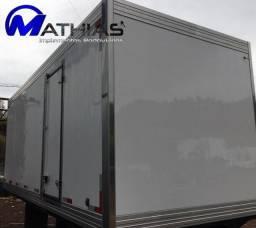 3/4 bau frigorifico 5.20m paleteiro Mathias implementos