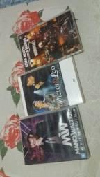 Coleção de DVDs originais..