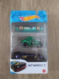 Título do anúncio: Hot Wheels pack 3