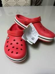 Crocs crocband vermelha PARINTINS-AM