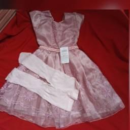 Vestido infantil feminino Novo