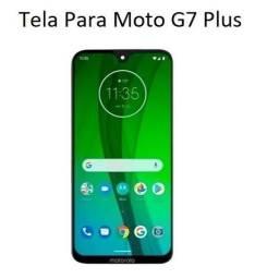 Tela / Display para Moto G7 Plus XT1965 - Melhor Preço do ES e Instalação em 30 Minutos!