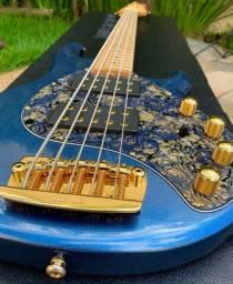 Baixo Music Man StingRay 5 Série Gold