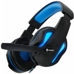 Headset Evolut Fone Gamer Thoth Azul