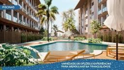 Título do anúncio: EM - Ao lado do Parque Aquático, 1, 2 3 qts, lazer completo - Praia dos Carneiros