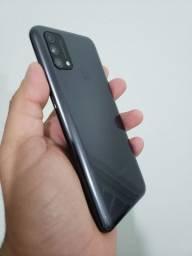 Samsung Galaxy M21S 4/64gb Novo completo Troco