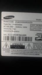 Televisão Samsung Smart TV de 40 polegadas fica se desligando sozinha *