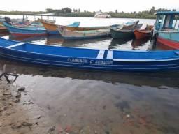 Título do anúncio: Barco 7 metros com motor