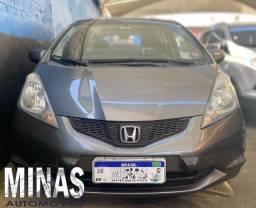Honda Fit Lx Aut 1.4 2009 completo c/ kit gás