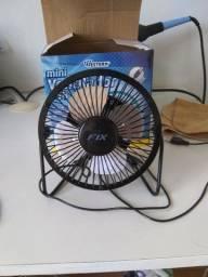 Mini ventilador USB!