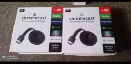 Chromecast transmitir imagem para tv