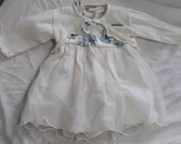 vestido infantil 9 meses a 1 ano. Negociável.