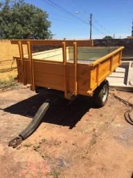 Título do anúncio: Carreta Agrícola 2 rodas - 3 toneladas - Nova - amarela