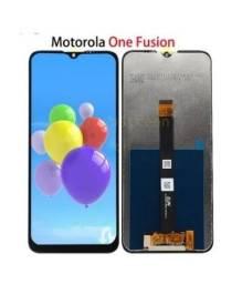 Tela / Display Original para Moto One Fusion Original XT2073 - Instalação em 30 Minutos!