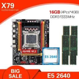 Kit Xeon e5 2640 16gb Ram - 4un x 4gb