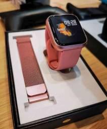 Título do anúncio: Smartwatch p70: SmartWatch P70 a prova d'água