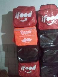 Mochila bag com isopor entregamos