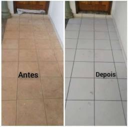 Título do anúncio: DETERLIMP FLÚOR ALCALINO PARA DESENCARDIR PISOS ÁREAS EXTERNAS
