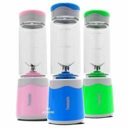 Mini Liquidificador Copo de Vidro Portátil 6 Lâminas Maz-004
