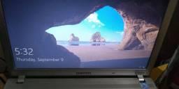 Título do anúncio: Notebook Samsung Rav 411**detalhes**