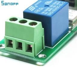 Sonoff 5v Wifi Interruptor Botão Pulso Automação Original