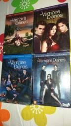 Dvd's The vampire diaries