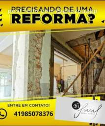Reforma e colocação  de piso e porcelanato
