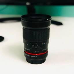 Samyang/Rokinon 35mm 1.4 Cine EF (Canon)