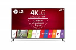 49'' LG Ultra HD 4K TV | 49UJ6525 (com defeito)