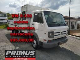 Caminhão cabine suplementar VW 8150