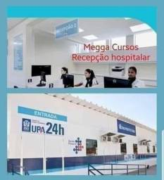 Curso de Recepção Hospitalar e Consultório + Recepção Administrativa
