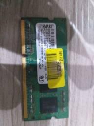 Título do anúncio: Memória DDR 3 12800 notebook