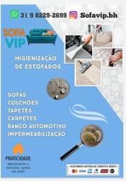 Título do anúncio: Higienização de Estofados - BH e Região (31 9  *)