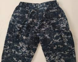 Calça Militar Americana Us Navy Azul / Large Regular
