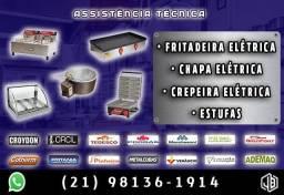 Assistência técnica manutenção fritadeira e etc