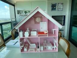 Título do anúncio: Casa em madeira . Nova toda completa