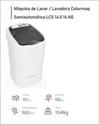 Máquina de lavar roupas semiautomática NOVA e com garantia de 12 meses
