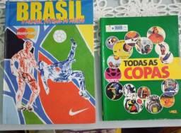 Título do anúncio: Pra colecionador. 2 livros sobre Copas do Mundo