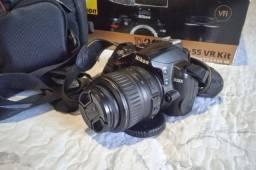 Câmera Nikon D3000 troco em Gopro