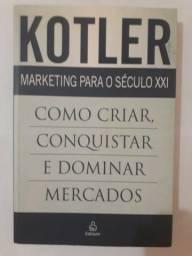 Livro Marketing para o século XXI em ótimo estado
