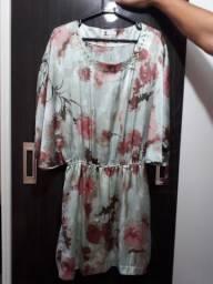 Blusa e vestido